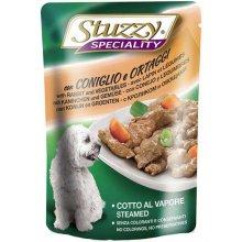 Stuzzy Speciality Dog - консервы Штуззи с кроликом и овощами в соусе для собак