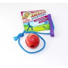 Sum-Plast Aportowa- мяч с веревкой Сам-Пласт для собак