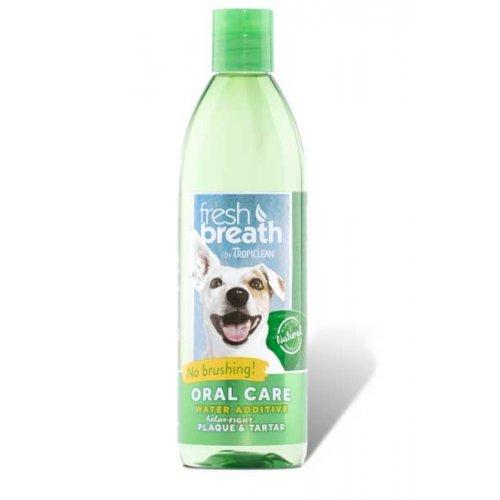 TropiClean Fresh Breath - добавка в воду Тропиклин для гигиены полости рта