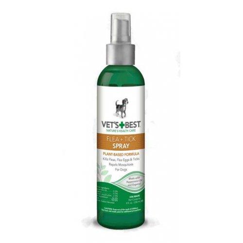 Vets Best Flea+Tick Spray - спрей Вэт Бест от блох и клещей для собак
