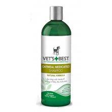 Vets Best Oatmeal Medicated Shampoo - шампунь Вэт Бест от перхоти для собак