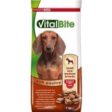 VitalBite - корм ВиталБит с птицей для собак мелких и средних пород