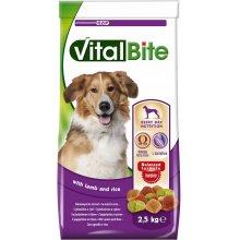 VitalBite - корм ВиталБит с ягненком и рисом для собак