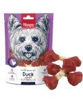 Wanpy Duck Jerky Dumbbells - лакомство Ванпи кость-гантель с вяленой уткой для собак
