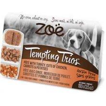 Zoe Tempting Trions - паштет Зои из индейки с кусочками курицы, моркови и картофеля для собак