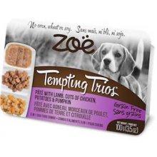 Zoe Tempting Trions - паштет Зои из ягненка с кусочками курицы, картофеля и тыквы для собак
