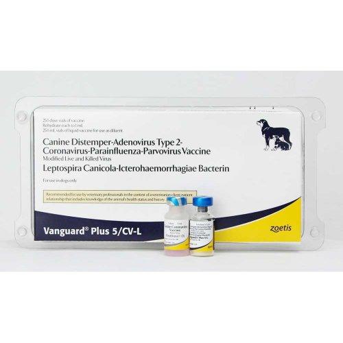 Zoetis Vanguard 5CV-L - Зоэтис вакцина Вангард, доповнено штамом коронавіруса