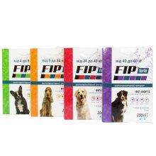 Zoovet Fip Forte - капли Фип Форте от блох и клещей для собак