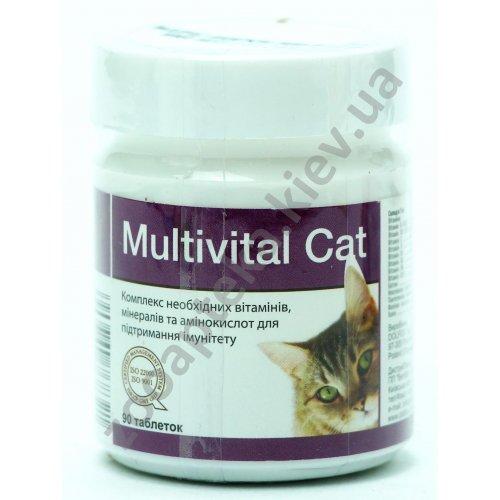Dolfos Multivital Cat - витаминная добавка Дольфос для кошек