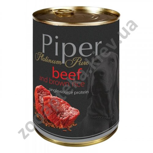 Dolina Noteci Piper PlatInum Beef - корм для собак Долина Нотечи с говядиной и коричневым рисом