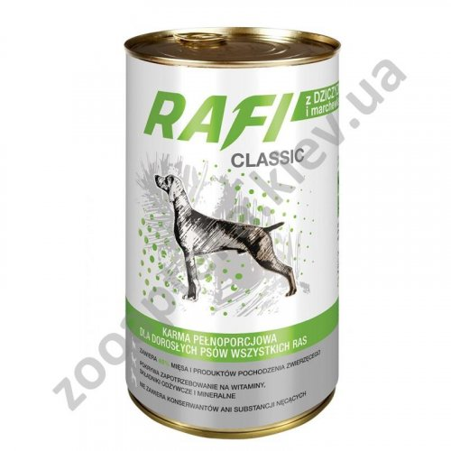Dolina Noteci Rafi Classic Game - корм для собак Долина Нотечи с дичью в соусе