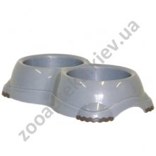 Moderna - двойная миска пластиковая Модерна Смарти №1