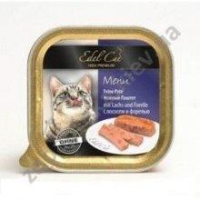 Edel Cat - нежный паштет Эдель с лососем и форелью