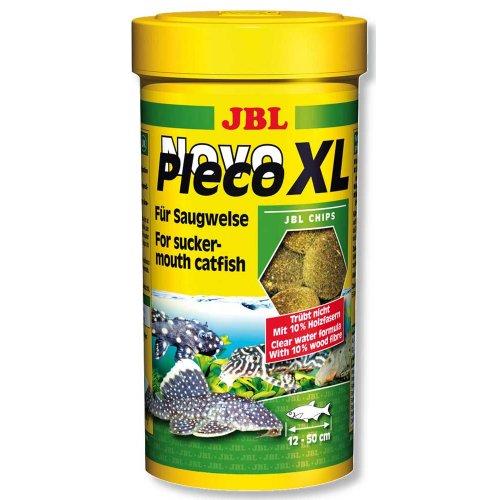 JBL NovoPleco XL - основной корм Джей Би Эл в виде чипсов для крупных кольчужных сомов