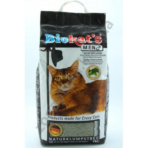 Gimpet Biokats Men - наполнитель Гимпет Биокетс для котов с экстрактом хмеля