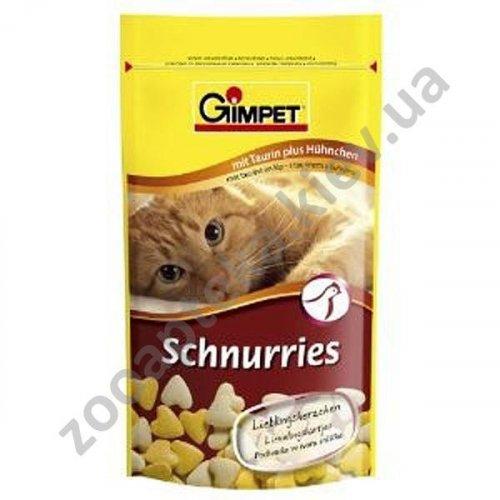 Gimpet - витамины Гимпет, сердечки с курицей и таурином для кошек