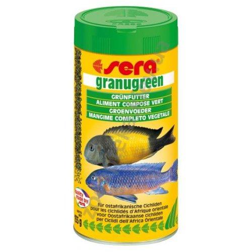 Sera Granugreen - корм Сера для растительноядных цихлид