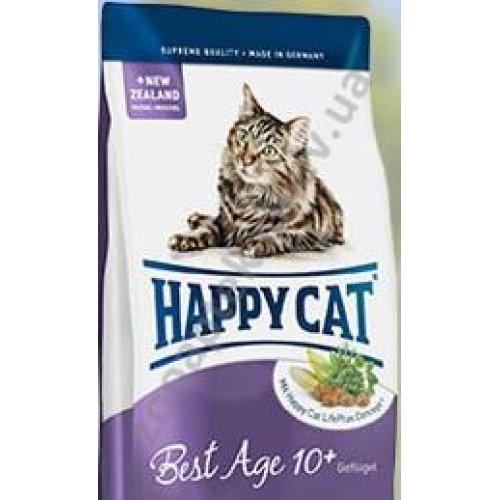 Happy Cat Best Age 10+ - корм Хэппи Кет для пожилых кошек