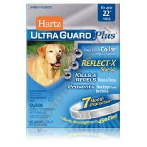Hartz Ultra Guard - ошейник Хартц светоотражающий от блох и клещей