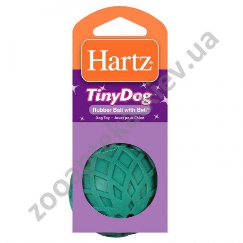 Hartz - мяч резиновый Хартц с колокольчиком для собак