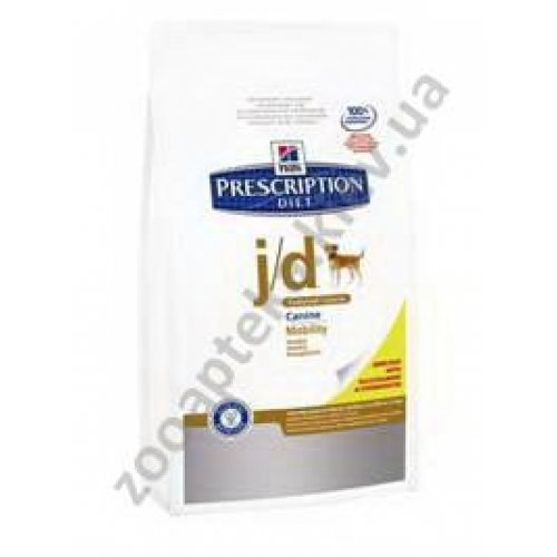 Hills Prescription Diet Canine j/d Reduced Calorie - диетический корм Хиллс для суставов собак
