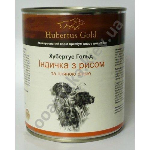 Hubertus Gold Turkey Rice - корм Хубертус Голд с индейкой и рисом