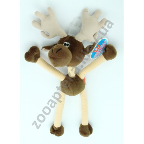 Hartz Bend Tug - мягкая игрушка Хартц Лось для собак