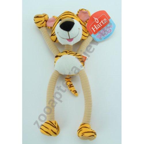 Hartz Bend Tug - мягкая игрушка Хартц Тигр для собак