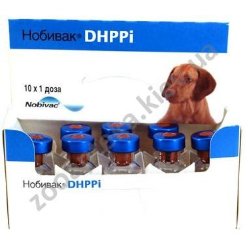 Intervet Nobi-Vac DHPPi - вакцина Нобивак DHPPi для собак