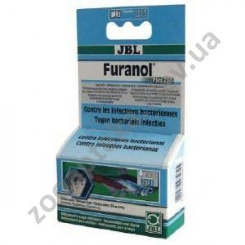 JBL Furanol Plus 250 - средство против бактериальных инфекций Джей Би Эл