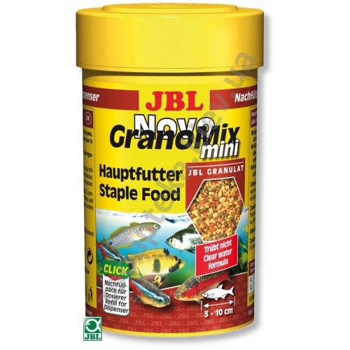 JBL Novo GranoMix Mini - корм Джей Би Эл в виде мелких гранул для всех видов мелких рыб