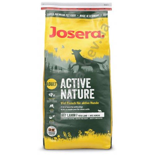 Josera Active Nature - сухой корм Йозера для собак с повышенной активностью