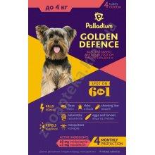 Palladium Golden Defence - капли Палладиум от паразитов для собак мини пород