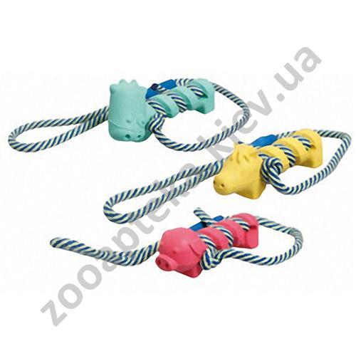 Karlie-Flamingo - игрушка животные резиновые Карли-Фламинго для собак
