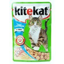 Kitekat - консервы Китекет лосось в соусе
