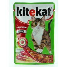 Kitekat - консервы Китекет говядина в желе