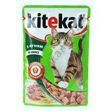 Kitekat - консервы Китекет ягненок в соусе