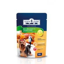 Клуб 4 Лапы - консервы для собак мелких и средних пород