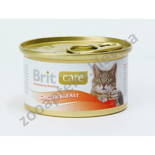 Brit Care - корм Брит с куриной грудкой для взрослых кошек