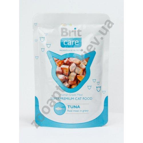 Brit Care - корм Брит с тунцом в соусе для кошек