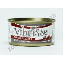 Vibrisse - консервы Вибриссе говядина и тыква для кошек