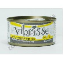Vibrisse - консервы Вибриссе курица, лосось и водоросли для кошек
