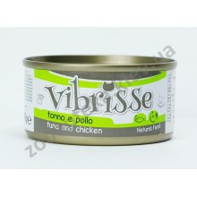 Vibrisse - консервы Вибриссе тунец и курица для кошек