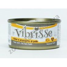 Vibrisse - консервы Вибриссе тунец и ветчина для кошек