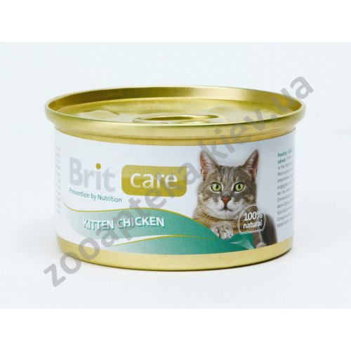 Brit Care Kitten - корм Брит с курицей для котят