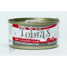 Tobias - консервы Тобиас курица и куриная ветчина для собак