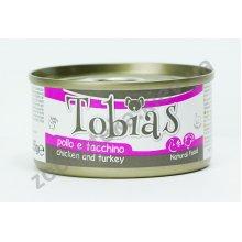 Tobias - консервы Тобиас курица и индейка для собак
