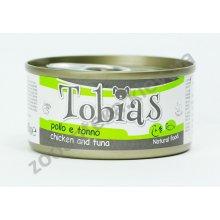 Tobias - консервы Тобиас курица и тунец для собак