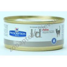 Hills Prescription Diet Feline l/d - лечебный корм Хилс при заболеваниях печени