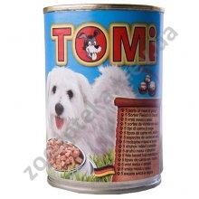TOMi - консервы ТОМи 5 видов мяса в соусе для собак
